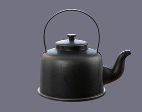 teapot vintage 3D model VR / AR ready