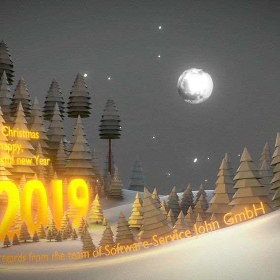 Merry Christmas 2018 And A Happy New 2019!