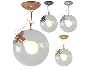 Miconos ceiling light 3D model