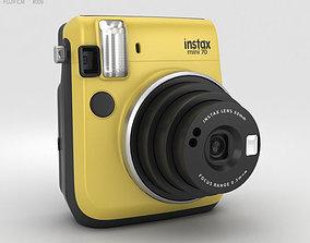 3D model Fujifilm Instax Mini 70 Yellow