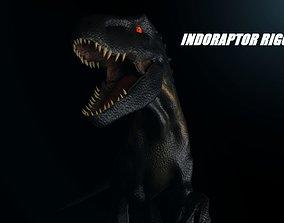 Indoraptor Rigged 2018 3D