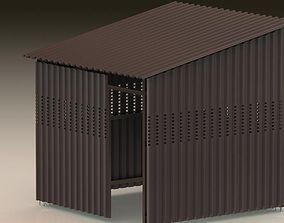 3D Shed Building