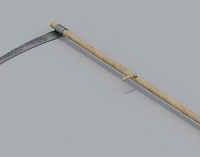 Scythe PBR 3D model