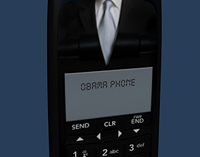3D model Obamaphone