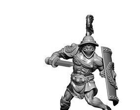 gladiator - Titus 3D print model - murmillo 35mm scale