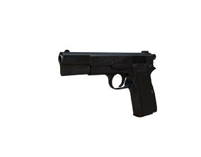 3D model Browning Hi-Power