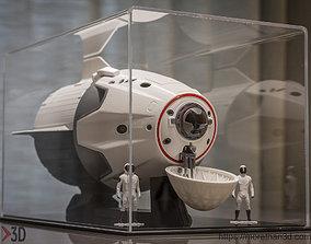 Crew Dragon Capsule 3D print model