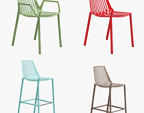 Fast rion chairs 3D model