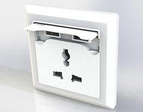3D print model Universal Power Socket
