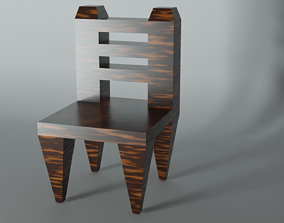 LOW POLY CHAIR 3D asset low-poly