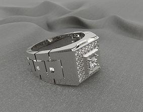 3D printable model ring rolex