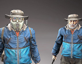 3D model Character Henry