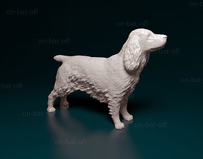 3D printable model English cocker spaniel