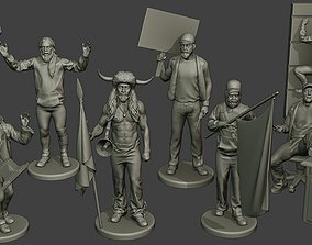 Capitol assault forces man 3D printable model