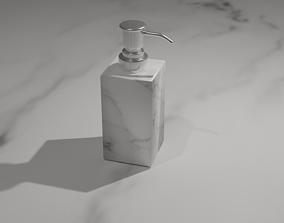 3D model game-ready Soap Dispenser