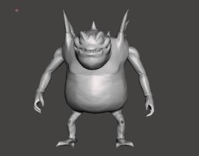 Haze Shenron 3D Model