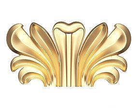 3D asset Carved Corbel 01