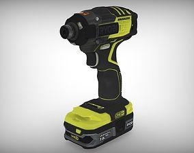 Ryobi Drill RBL15 Tool 3D-Scaned appliance