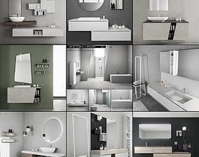 Bathroom furniture collection 3 Bathroom 9 starck 3D