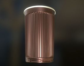 3D model Plastic Cup Highpoly Version