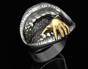 3D printable model Devourer ring