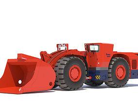 3D Sandvik underground loader TORO 0011