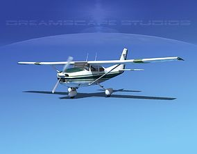 3D Cessna 182 Skylane V03