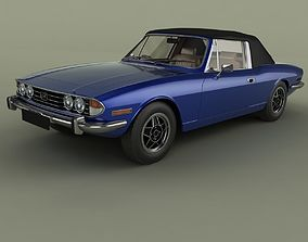 Triumph Stag Soft Top 3D model