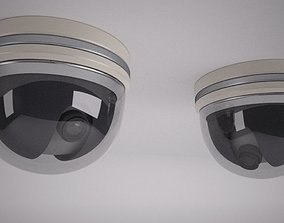 Security Camera 3D watching