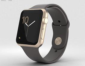 3D model Apple Watch Series 2 42mm Gold Aluminum Case 2