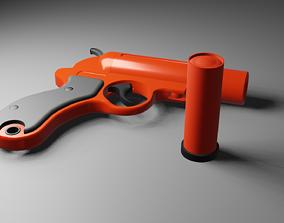 3D asset flare-gun