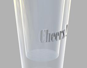 3D print model Cheers Shot Glass