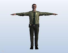 Sheriff Model 2018 Player Model - High Quality rigged