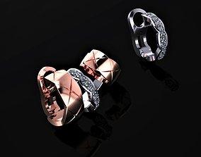 3D print model Chanel Earrings