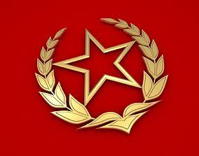 Socialism Symbol 3D model communism
