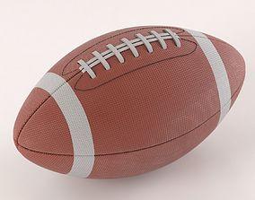 3D American Football Ball