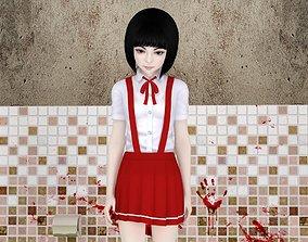 3D Hanako-san pose 01
