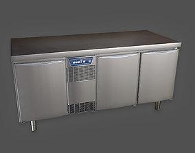 KTC - Industrial Fridge Counter - PBR Game Ready 3D model