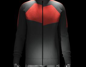3D Knit Jacket in Clo3d and Marvelous Designer clo