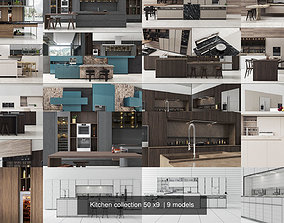 Kitchen collection 50 x9 3D model