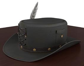 Stylized Top Hat v01 3D model