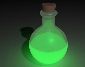 Bottle 3D model flask