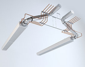 Ventilation and air-conditioning system 3D model