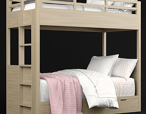 RH Baby and Child Landry bunk bed 3D