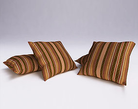 3D Contemporary Cushion 3dsmax