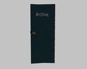 Archive cabinet 3D model