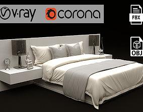 3D model Modern Bed 01
