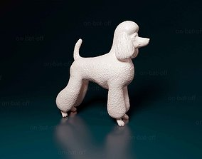 Puppy-haired poodle 3D print model