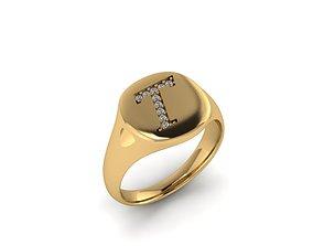 signature 3D printable model Jewelry Signature Ring