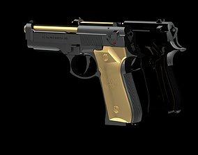 New Design Jewelry Pendant Gun 3D printable model